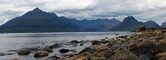 Cuillin Hills from Elgol, Isle of Skye van Jeroen van Deel