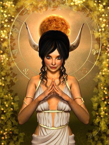 Stier Göttin Sternzeichen von