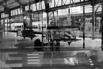 DubbelZicht Station von Henriëtte Hoffs