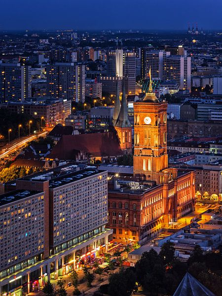 Berlin - Red City Hall van Alexander Voss