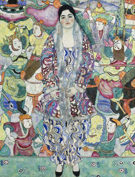 Bildnis der Friedericke Maria Beer, Gustav Klimt von Meesterlijcke Meesters
