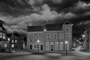 Dordrecht Niederlande Schwarz und Weiss von Peter Bolman