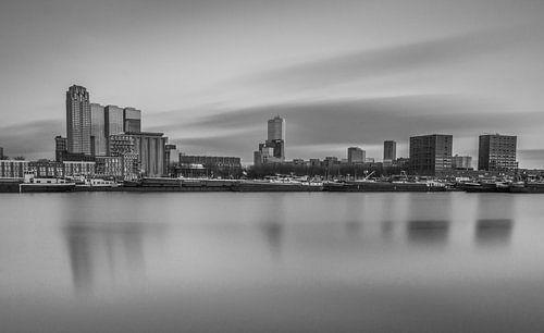 Maashaven Rotterdam in black&white