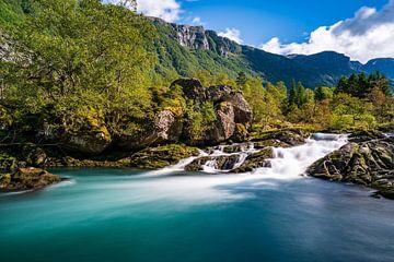 Folgefonna gletsjerwater van Joris Machholz