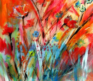 Flowers Live von Claudia Gründler