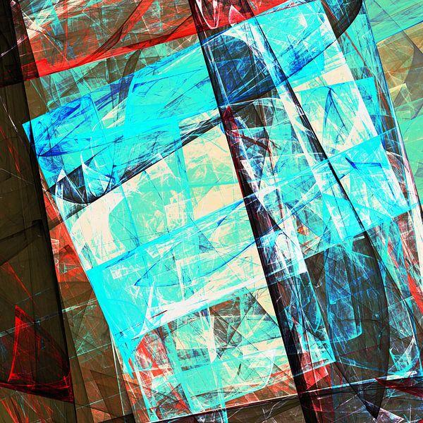 Composition Abstraite 456 van Angel Estevez
