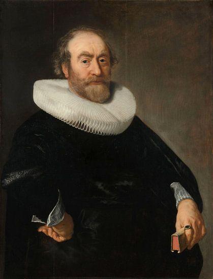 Portret van Andries Bicker, Bartholomeus van der Helst, 1642 van Meesterlijcke Meesters