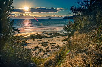 White Beach, Tasmanië van Sven Wildschut