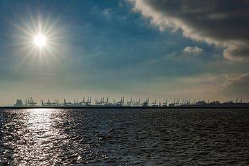 View of the Maasvlakte, Hoek van Holland von kitty van gemert