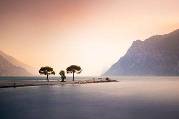 Gardameer II - Trentino Landschappen van Claire Droppert