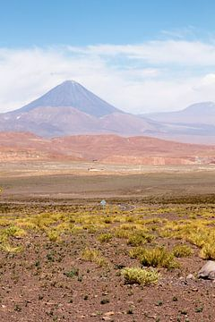 Auf dem Weg zum Rainbowvalley Chile von Amy Verhoeven