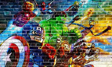 LEGO Marvel Wand-Graffiti-Sammlung 4 von Bert Hooijer