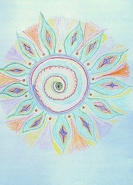 Flower of Fortune van Parallel Dream Art