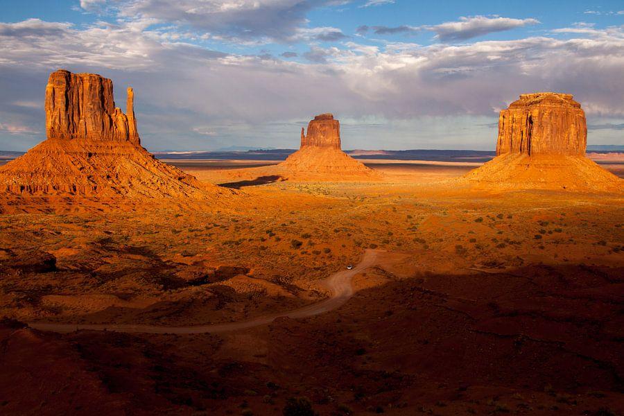 Monument Valley, Arizona van Stefan Verheij