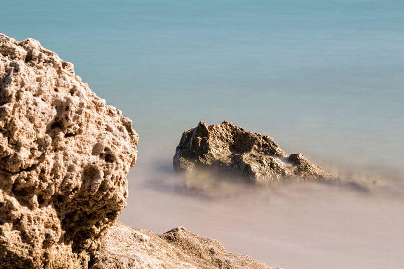 Rotsen in Griekenland van Miranda van Hulst