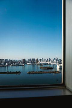 Uitzicht op Odaiba van Mert Sezer