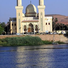 Moskee in Egypte van Jolanta Mayerberg