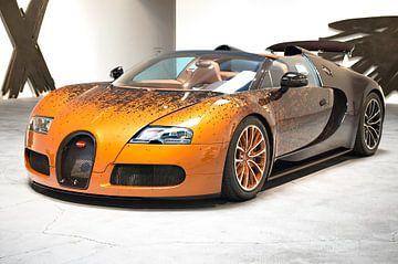 bugatti veyron grand sport supercar van Atelier Liesjes