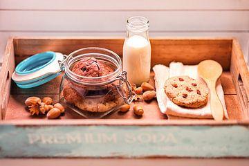 koekjes en melk van