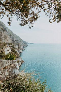 Amalfikust Italië | fotoprint lente aan de Middellandse zee van sonja koning