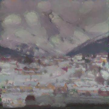 Abstract Inspiratie LXVII van Maurice Dawson