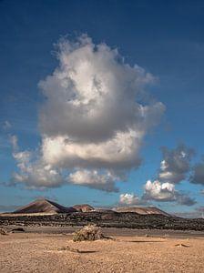 Landschap van Lanzarote - La Graciosa