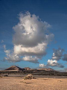 Landschap van Lanzarote - La Graciosa sur
