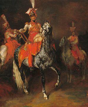 Berittene Trompeter der Kaiserlichen Garde Napoleons, Théodore Géricault
