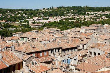 Sommieres, Frankreich von Herman IJssel BWPHOTO