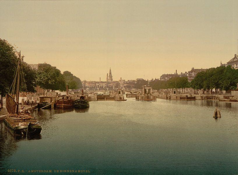 Lauwersgracht, Arnhem van Vintage Afbeeldingen