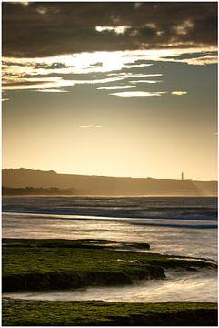 Zonsondergang bij de Opaalkust