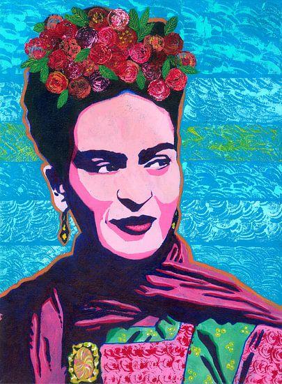 Frida Kahlo van Lucienne van Leijen