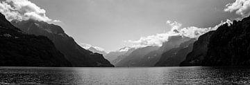 Berge, so weit das Auge reicht. von Maarten Mensink