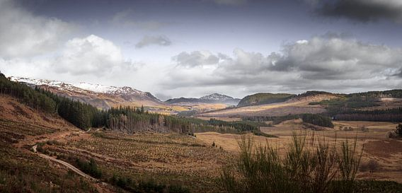 Laggan and the Cairngorms from Dun da Lahm