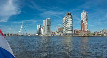 Skyline Rotterdam Kop van Zuid van Onno Kemperman