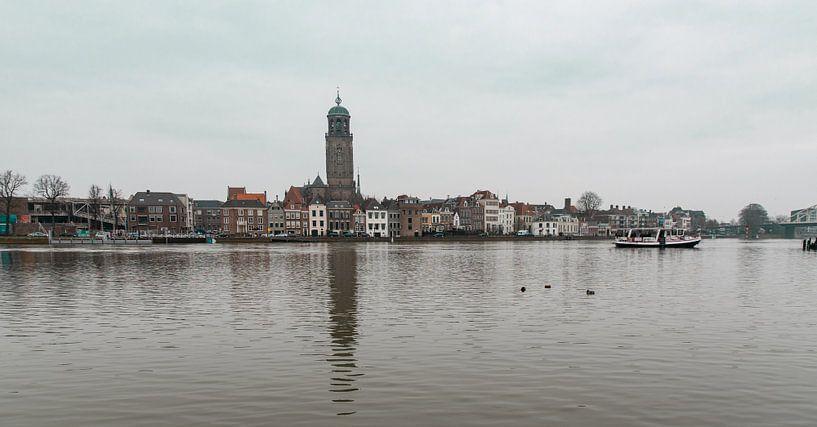 Panorama aanzicht van Deventer van Ingrid Aanen