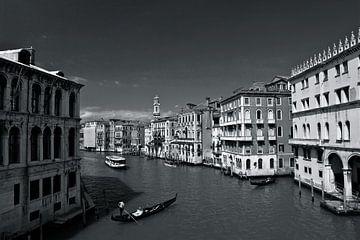 Canal Grande in Venetië.  van Jasper van de Gein Photography