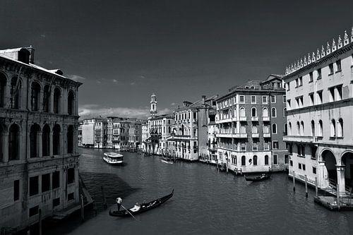 Canal Grande in Venetië.  van