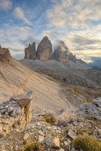 Tre Cime di Lavaredo in Zuid-Tirol