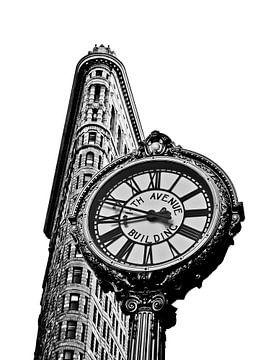 Flatiron Building & Clock van Tineke Visscher