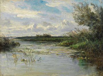 Carlos de Haes - Das wilde Grasland, die alte Landschaft