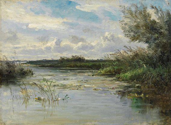 Carlos de Haes-Het wilde graslandschap, het antieke landschap