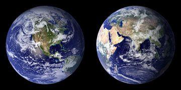 Zweimal die Erde von Digital Universe