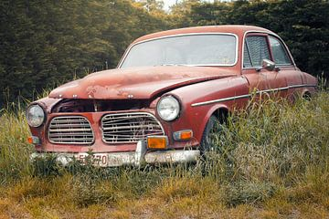 verlassener Volvo von Kristof Ven