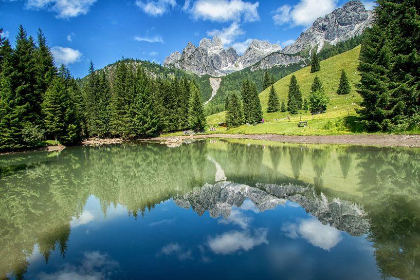 Mountain Reflections van Martin Smit