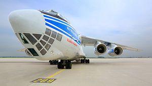 Vliegtuig Volga Dnepr Airlines RA-76950 van