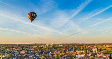 Luchtballon boven Hilversum von Dennis Kuzee