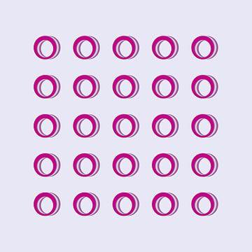 cirkels 1 van Marion Tenbergen