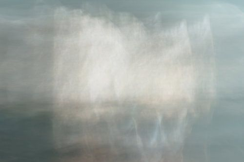 Scheepjes op het water   Abstract landschap