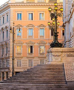 L'éclairage public à Rome sur Rob van Esch